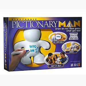 Pictionary Man 2008- a Great team drawing/guessing game-Complete