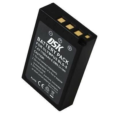 Bateria Camara Para OLYMPUS BLS-5 E-PL1s 1150mA