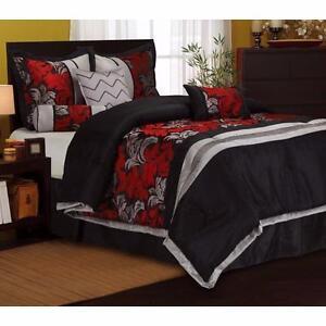 Lincoln 7 Piece Comforter Set by Nanshing America, Inc KING NEW