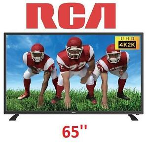 NEW OB 65'' RCA 1080P 4K LED HDTV ULTRA HD TV RLED6515 109066294