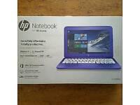 HPStream 11-R001na Intel® Celeron® Processor, 2Gb RAM, 32Gb EMMC SSD, 11.6 Inch Laptop - Purple