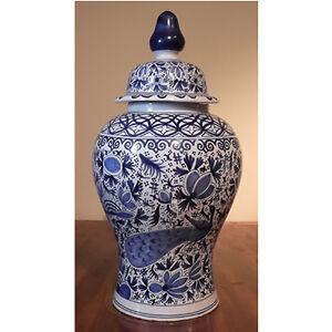 Antique Dutch Delft Urn