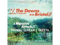 2 tickets - Massive Attack, Primal Scream & Skepta £60 each