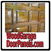Wood Garage Doors