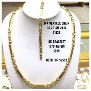 14k GOLD CHAINS