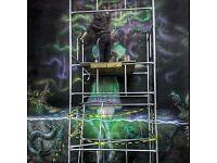 Contemporary professional established street/mural artist.