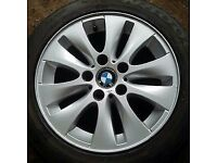 Bmw 16 inch alloys and tyres