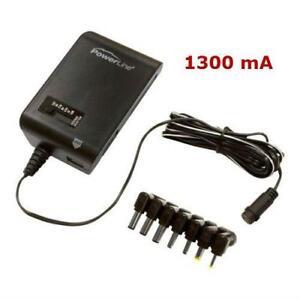 1300 mA Universal AC Adapter Multi Use Power Adaptor