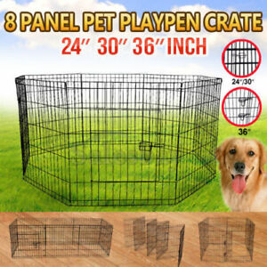 Quality 8 Panel Pet Playpen Portable Exercise Fence Crate Thomastown Whittlesea Area Preview