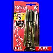 Berol Black Pens