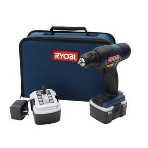 NEW Sealed RYOBI Drill Kit 12V (2 batteries and carrying case) Windsor Region Ontario image 1