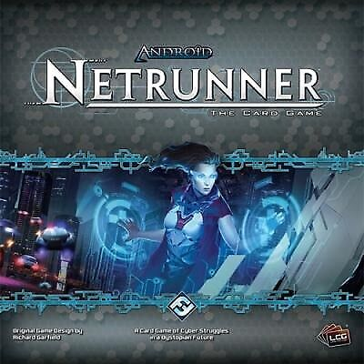 Android Netrunner Board Game - Perfect Condition