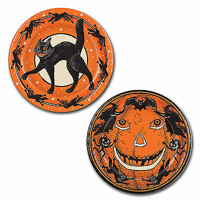 Halloween 9 Inch Plates