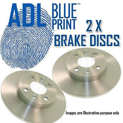 HONDA CIVIC 1.8 01/2006-> ADL FRONT BRAKE DISCS ADH24383 4702