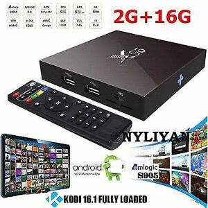 X96 Android Box - 2gb/16gb - Free Movies, TV Shows, Live TV!