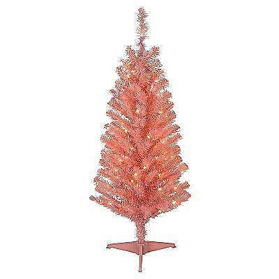 Pre Lit Pink Christmas Tree