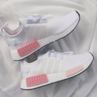 Adidas White Rose NMD R1 Womens size 6