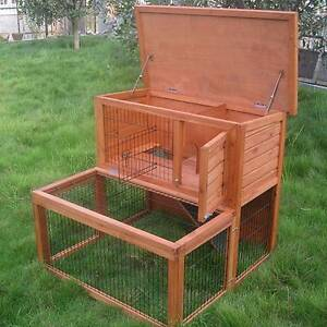 Double Storey Rabbit Hutch cage with Extension Run Mordialloc Kingston Area Preview