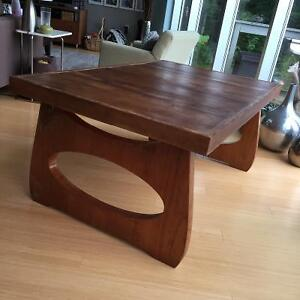 Retro, repurposed, refurbished & recycled coffee table