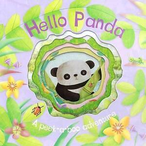NEW Hello Panda (Die-cut Animal Board) by Parragon Books