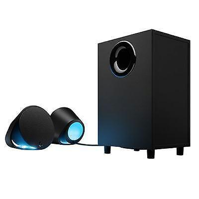 Logitech G560 LIGHTSYNC PC Gaming Speakers w/Game Driven RGB Lighting