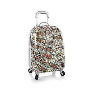 """Disney Mickey Mouse Tween Spinner 20"""" Hard Luggage Case Expandab"""