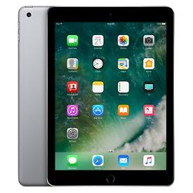 Apple iPad 5th Generation Tablet- 32GB Space Grey- Wi-Fi + 4G