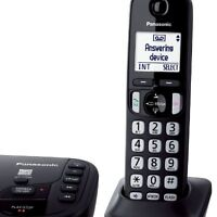 Panasonic® 3-HS Cordless Phone w/ Answering System ONLY 54.99$