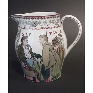Copeland Late Spode Shakespeare Themed Pitcher