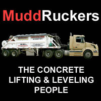 MuddRuckers Concrete Lifting and Leveling