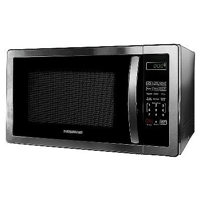 Farberware FMWO11AHTBKB Classic 1000W Microwave Oven, 1.1 cu