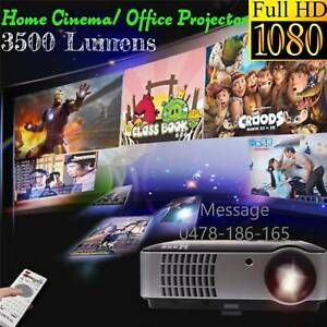 Full 1080P LED Portable Projector Business Education Home Theater Melbourne CBD Melbourne City Preview