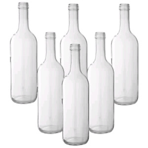 WANTED CLEAR BOTTLES