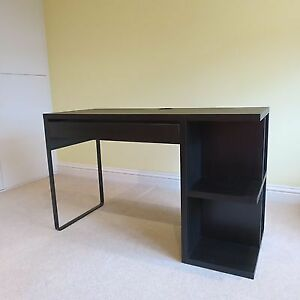 Ikea Black/Brown Desk Kitchener / Waterloo Kitchener Area image 2