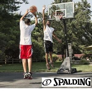 """NEW* SPALDING 54"""" BASKETBALL SYSTEM - 127284942 - BASKET BALL BALLS HOOP HOOPS SHOOTING NET NET TEAM SPORT COURT COURTS"""