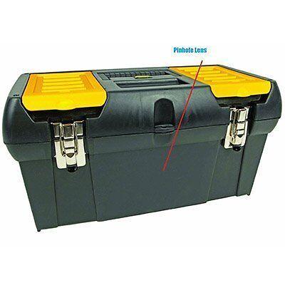 Spy-MAX Security Tool Box Hidden Camera w/ DVR & 30-Day Battery