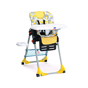 1. Baby haute chez table a manger Chicco - 60$
