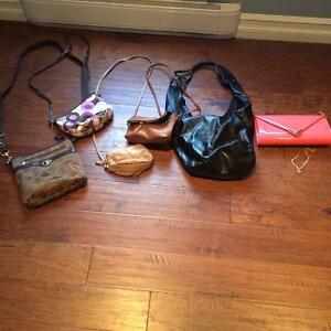 6 purses for 30$