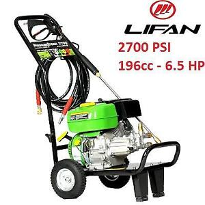 NEW LIFAN 196cc PRESSURE WASHER - 125890078 - 2700 PSI 6.5 HP 3 GPM GAS INDUSTRIAL GRADE AN AR AXIAL CAM PUMP