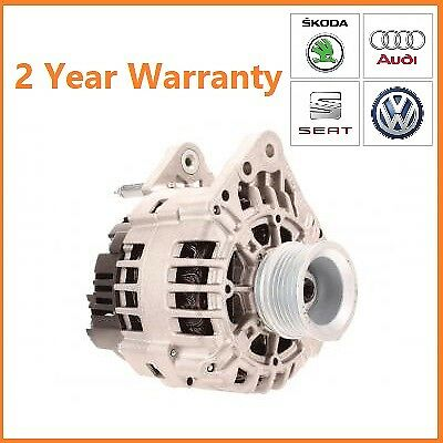 Alternator   SEAT Ibiza Leon Toledo 14 16 18 20V 1999 2009 UPRATED 110A