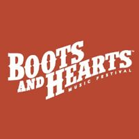 Two camping boots and hearts tickets