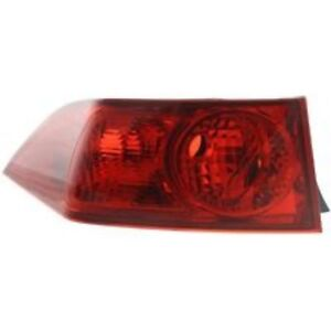 ACURA TSX TAIL LAMP LH-RH 06-08 HQ