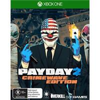 payday 2 crime wave xbox one