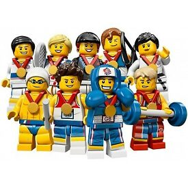 Lego Special Edition London Olympic Mini figures (all 9 figures unopened)