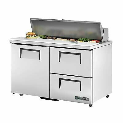 True Tssu-48-12d-2-ada-hc 48 Sandwich Salad Unit Refrigerated Counter