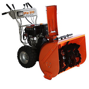 302cc 11-HP Commercial 2-Stage Gas Snow Blower with 30-inch Clea