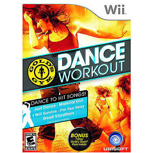 Gold's Gym Dance Workout (Nintendo Wii)