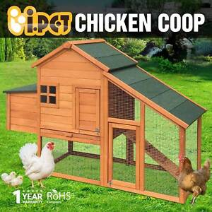 Chicken Coop Rabbit Hutch Guinea Pig Ferret Cage Brand New Adelaide CBD Adelaide City Preview