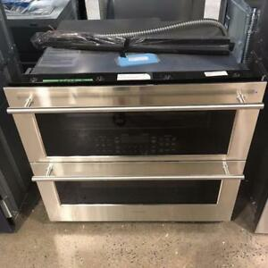 Four double encastré 30'', convection véritable, stainless