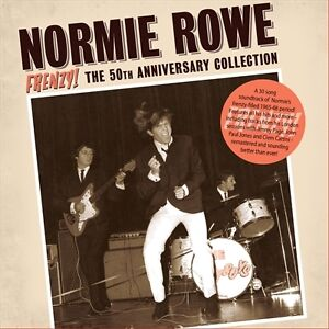 NORMIE ROWE FRENZY! 50th ANNIVERSARY COLLECTION  REMASTERED CD NEW